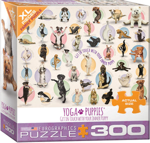 Eurographics Yoga Puppies 300 pc