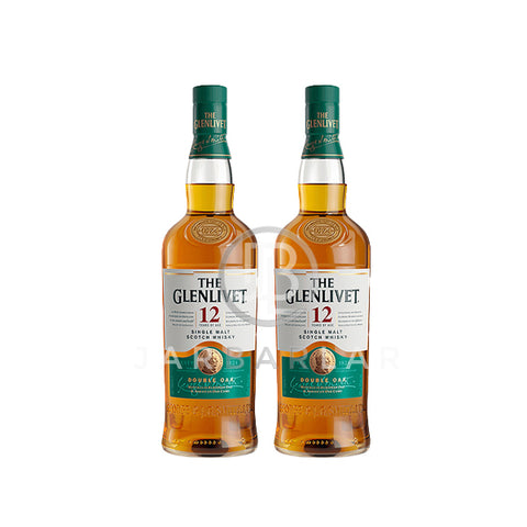 Double Glenlivet 12 Years 700ml x2
