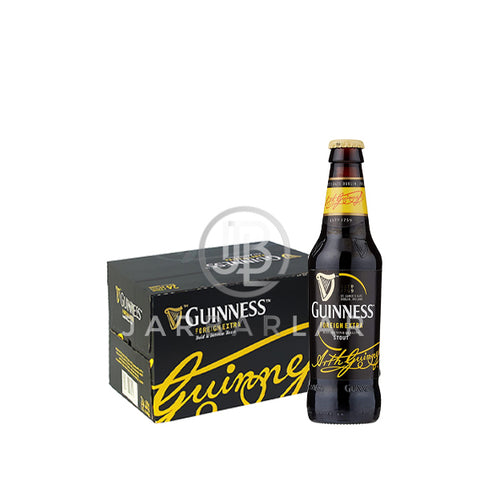 Guinness Stout bottle 24x323ml-Beer-jarbarlar-alcohol_delivery-wine_and_spirit_jarbarlar