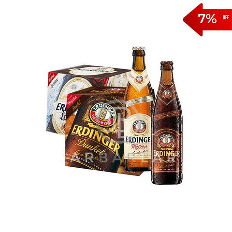 Double Erdinger Bottle 24x500ml | Beer Cider | Jarbarlar-Beer-jarbarlar
