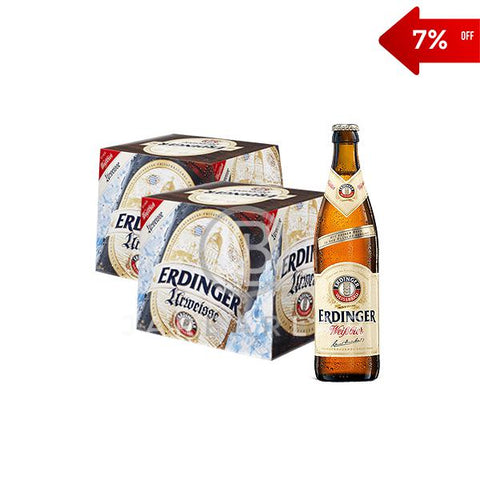 Double Erdinger Weisser Bottle 24x500ml-Beer-jarbarlar-alcohol_delivery-wine_and_spirit_jarbarlar