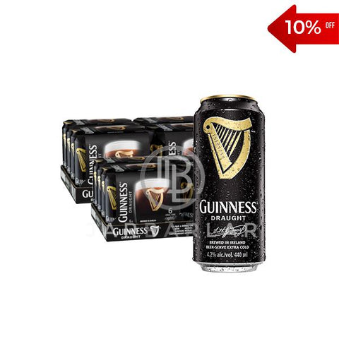 Double Guinness Draught Beer Can 48x440ml-jarbarlar-alcohol_delivery-wine_and_spirit_jarbarlar