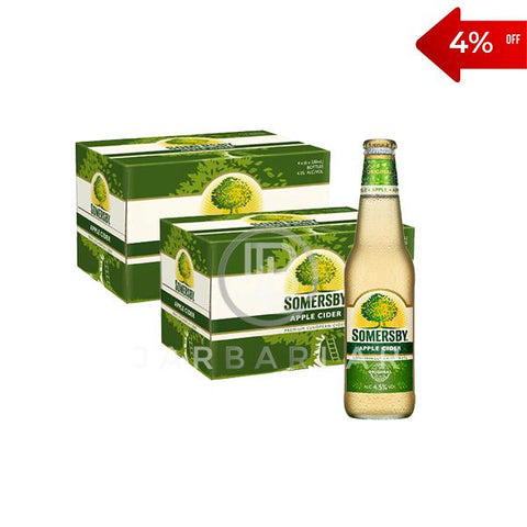 Double Somersby Apple Cider Bottle 48x330ml-jarbarlar-alcohol_delivery-wine_and_spirit_jarbarlar
