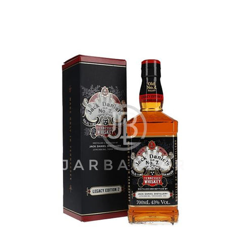Jack Daniels Legacy Edition 2 700ml-Whisky-jarbarlar-alcohol_delivery-wine_and_spirit_jarbarlar