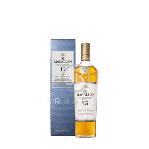 Macallan 15 Year Triple Cask 700ml-Whisky-jarbarlar-alcohol_delivery-wine_and_spirit_jarbarlar