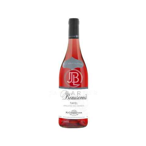 M.chapoutier Beaurevoir Rosé Tavel 750ML-France-jarbarlar-alcohol_delivery-wine_and_spirit_jarbarlar
