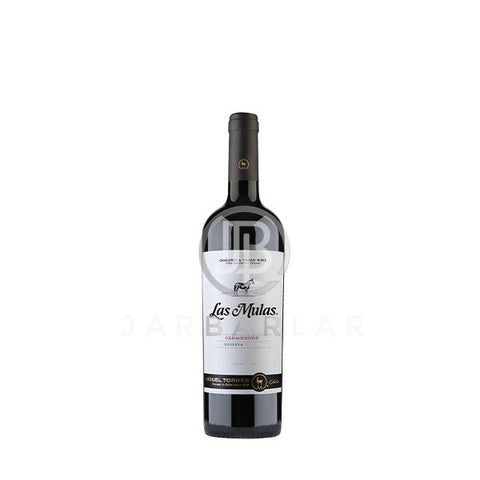 Miguel Torres Organic Las Mulas Carmenere 750ml-Chile-jarbarlar-alcohol_delivery-wine_and_spirit_jarbarlar