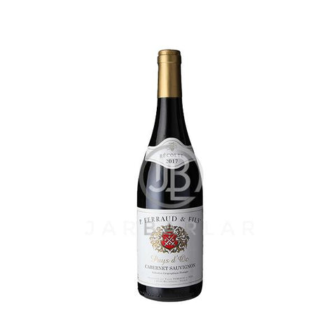 Pierre Ferraud & Fils Cabernet Sauvignon Vin De Pays IGP 750ml-France-jarbarlar-alcohol_delivery-wine_and_spirit_jarbarlar