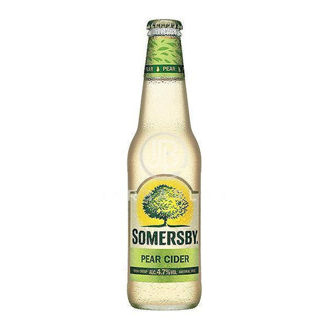 Somersby Pear Cider Bottle 24x330ml | Beer Cider | Jarbarlar-Beer-jarbarlar