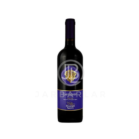 Villa Poggio Salvi Lavischio Merlot Toscana IGT 750ml-Italy-jarbarlar-alcohol_delivery-wine_and_spirit_jarbarlar