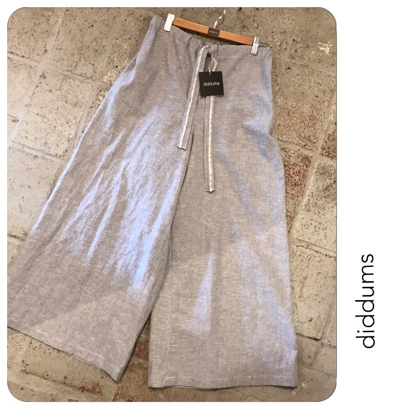 diddums - Linen/Cotton Wide Leg Pants