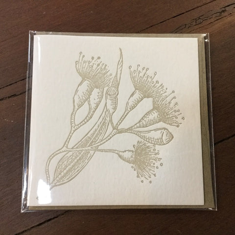 Fluid Ink Australian Botanicals Card