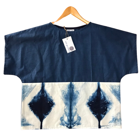 Shibori Dyed Top