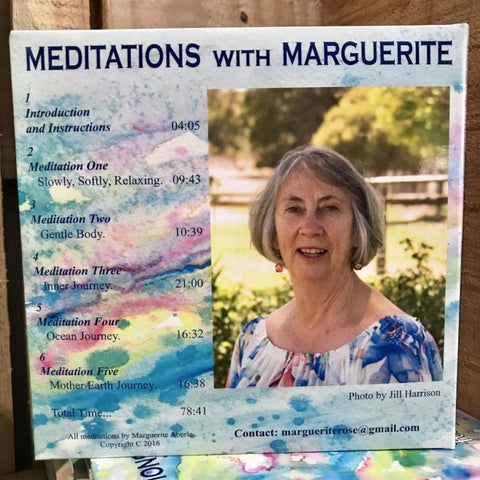 Meditation CD - Marguerite Aberle - recorded in West Australia