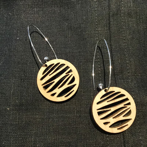 This Papercut Life Earrings - Water