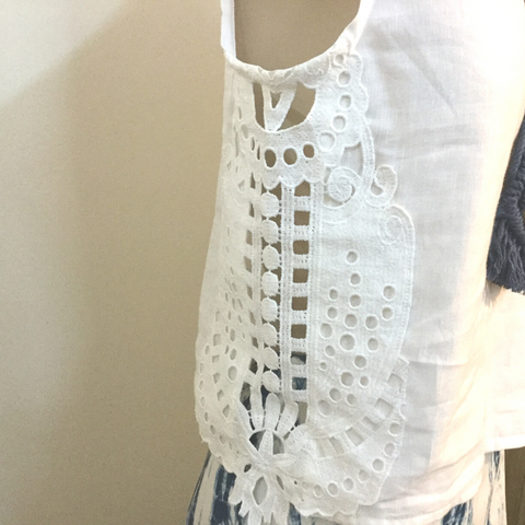 Indi-go-round - lace Insert Top