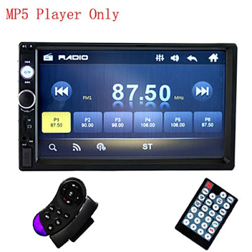"7"" HD Autoradio Multimedia Player 2DIN Touch Screen"