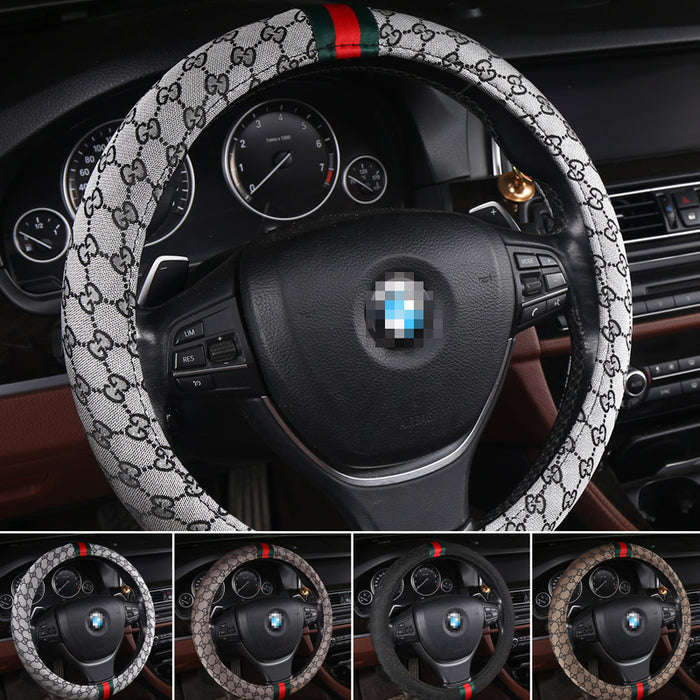 Universal Non-Slip Sweat-Absorbent Steering Wheel Cover