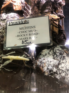 Chocolate Muffins - Mud, Rocky Road and Mars Bar