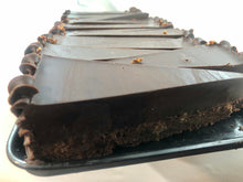 Load image into Gallery viewer, Choc Walnut Fudge Cake