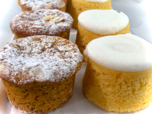 Load image into Gallery viewer, Lemon Polenta or Orange and Poppyseed cakes- Gluten Free