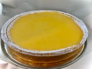 Tangy Lemon Custard Tart