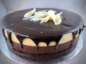 Triple Layer Chocolate Mousse Cake - Large , small or slice