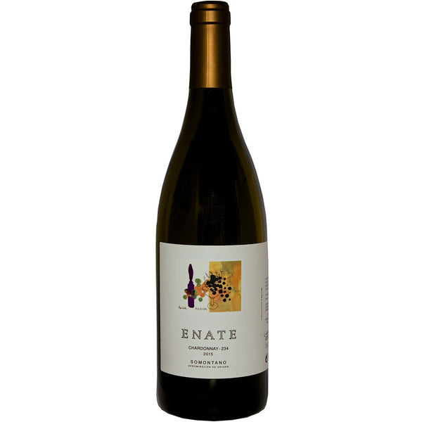 Bottle of Enate 234 Chardonnay white wine