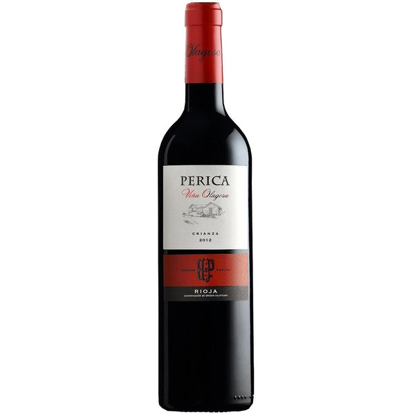 Bottle of Bodegas Perica Olagosa Rioja Crianza red wine