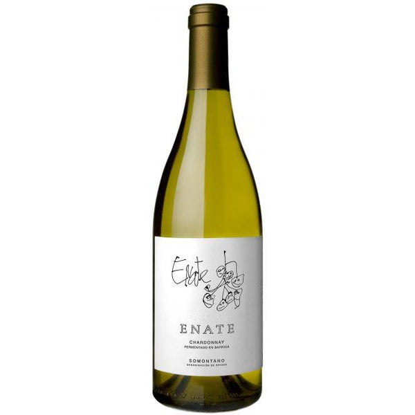 Bottle of Enate Barrique Fermented Chardonnay white wine