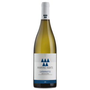 Bottle of Marino Abate Cataratto white wine