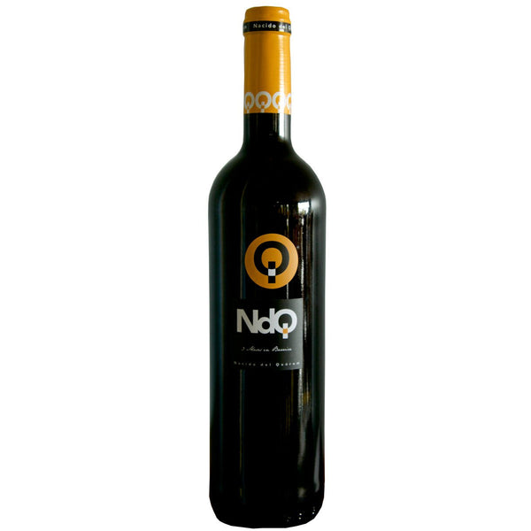 Bottle of NDQ Monastrell 2014 red wine