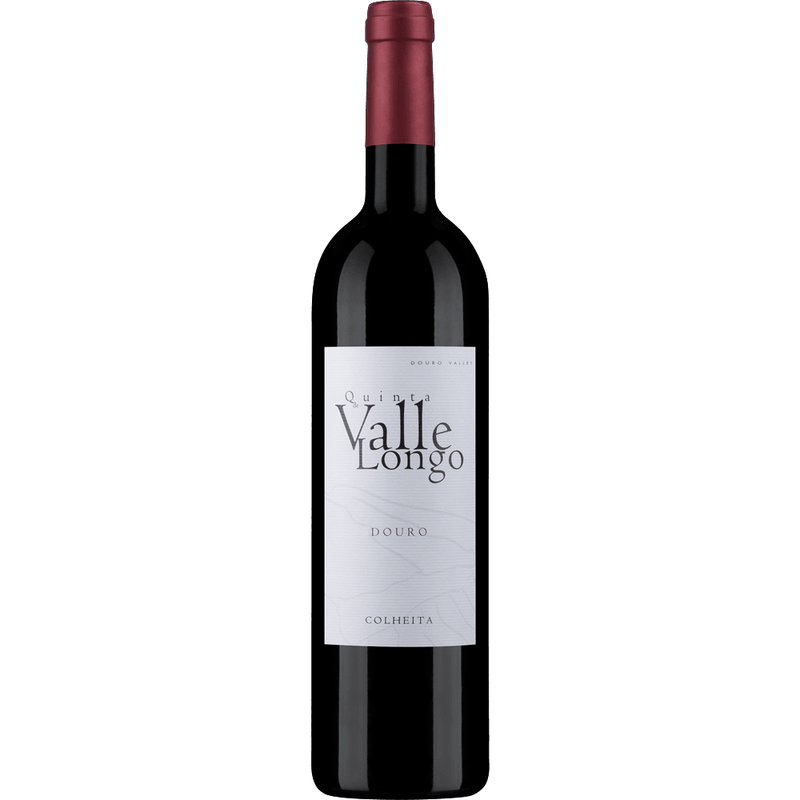 Bottle of Quinta de Valle Longo Colheita red wine
