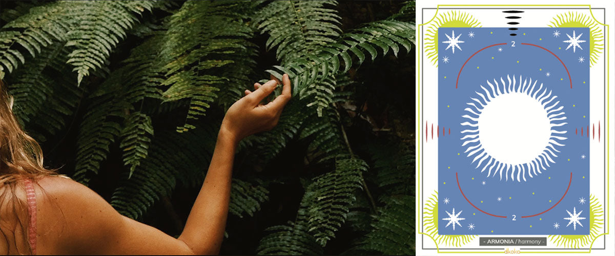 Harmony with nature inspiration for Into the Deep Dkoko Collection