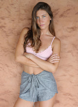 Manzanillo Wrap Short in Grey