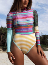 Riptide Long Sleeve Upcycled Surf Suit