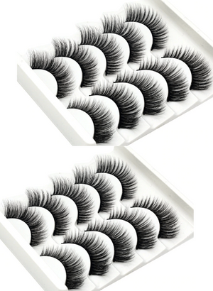 Open image in slideshow, 10 Exclusive Pairs of Eye Lashes by MG Cosmetics - dogsavers