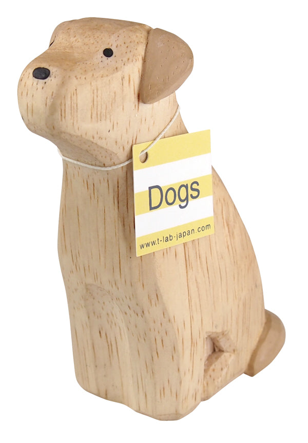 Wooden Golden Retriever - Polepole Animal