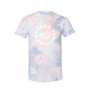 SPREAD SUNSHINE T-SHIRT - CORAL