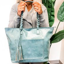 Load image into Gallery viewer, Cassandra Handbag - 2 COLORS