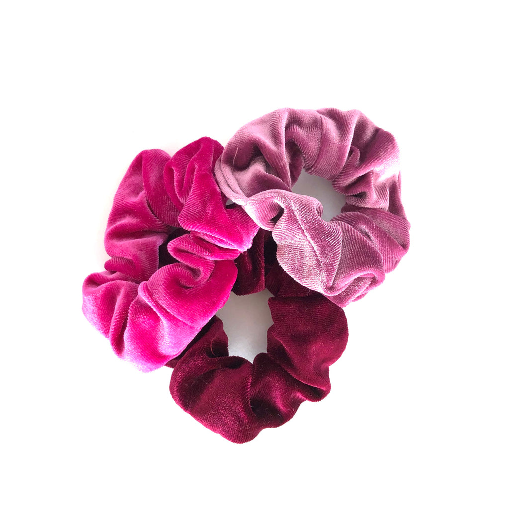 SCRUNCHIE 3 PACK - PINK
