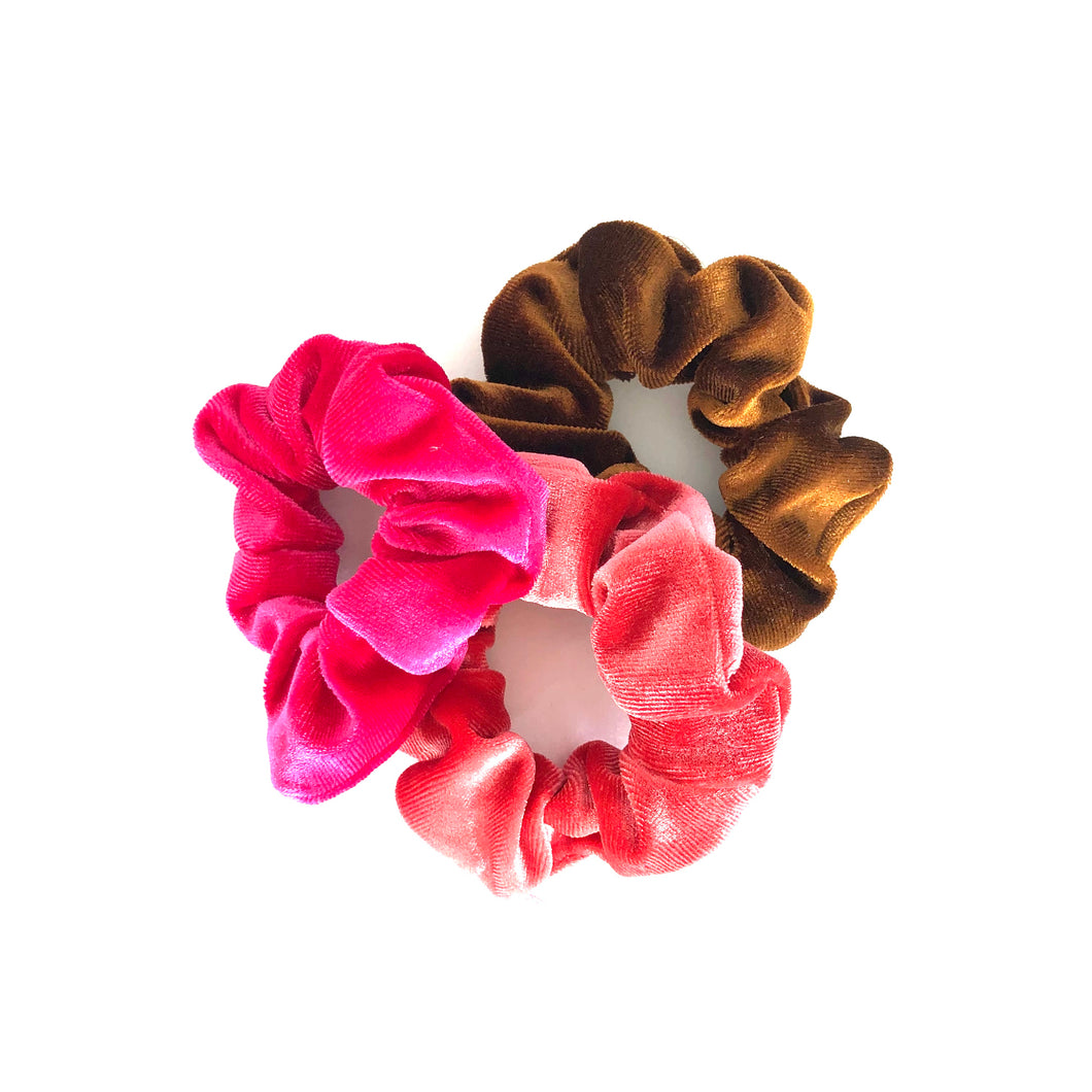 SCRUNCHIE 3 PACK - SUNSET
