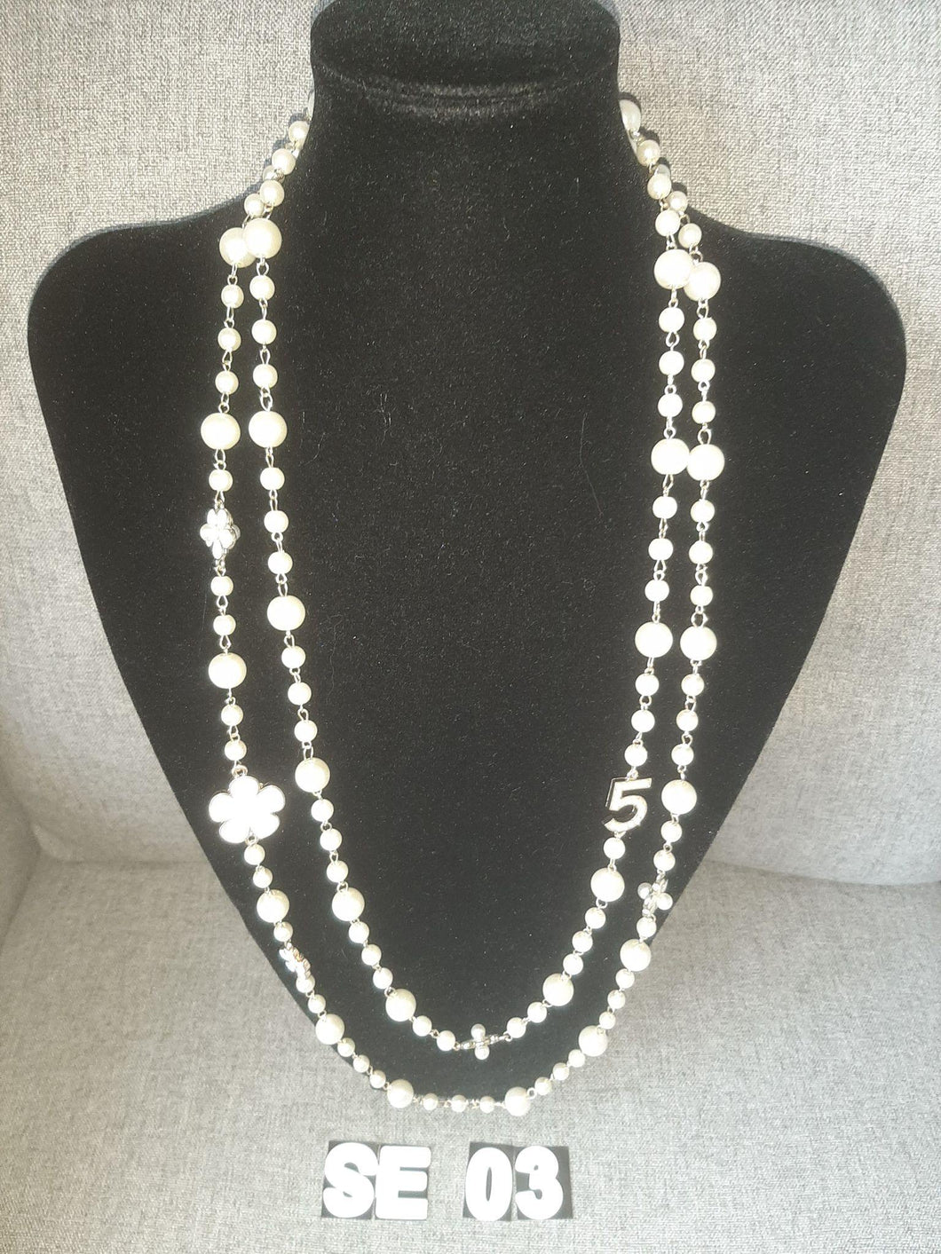 Pearl Strand Necklace - SE03