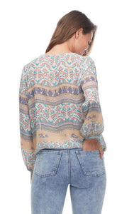 Pretty Print Blouse 1459584