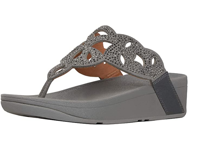 Elora Crystal Toe-Thongs - Elegant Steps