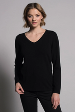 Load image into Gallery viewer, Long-Sleeve V-Neck Top