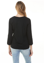Load image into Gallery viewer, 3/4 Sleeve T-Shirt - C1263-001 - Elegant Steps