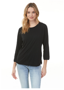 3/4 Sleeve T-Shirt - C1263-001 - Elegant Steps