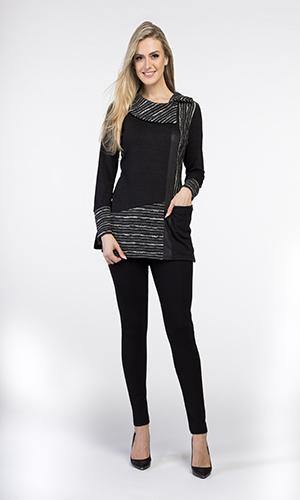 Tunic with Pocket - V9129