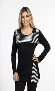 Tunic with Stripes - V9145